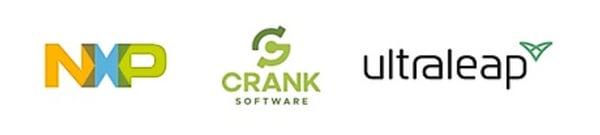 NXP CRANK and ULTRALEAP logos