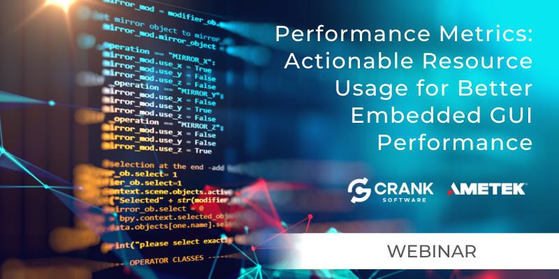 Performance Metrics for Better GUI Performance