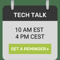 Tech Talk Calendar Icon