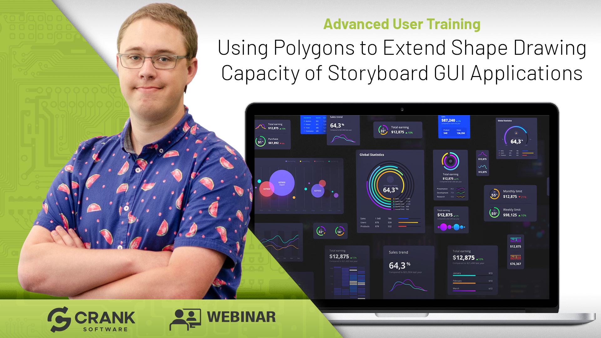 Using Polygons to Extend Shape Drawing Capacity of Storyboard GUI Applications